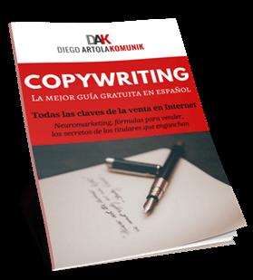 Portada Copywriting Diego Artola