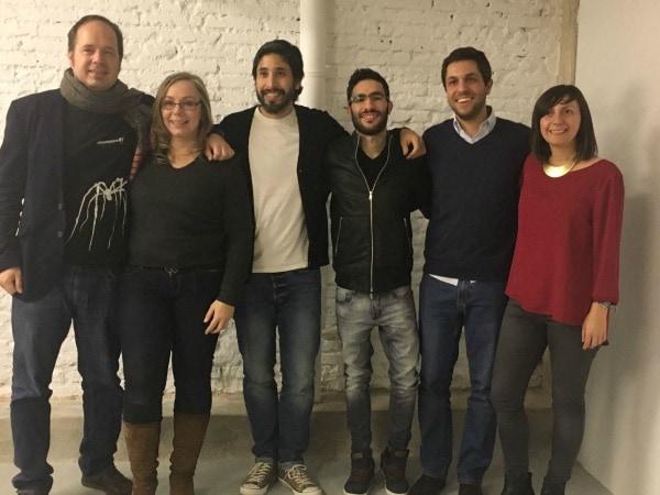 Networking de Diego Artola con Alejandro Novas, Borja Girón, Nano Lamberti, Paula Rivera y Beatriz Blasco