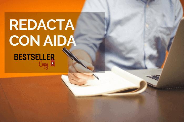 fórmula AIDA para escribir anuncios